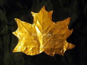 Brass Leaf by Sally Tiska Rice