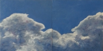 Karen Jacobs, Clouds Diptych